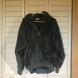 Express Sherpa pullover